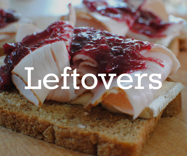 Leftover Recipes