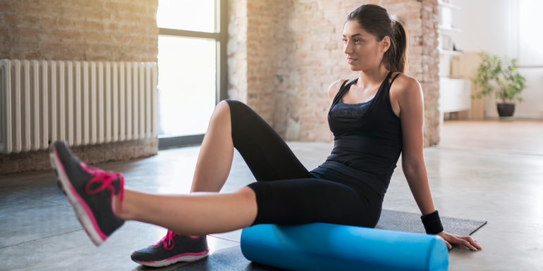 The Big Benefits of Foam Rolling-header
