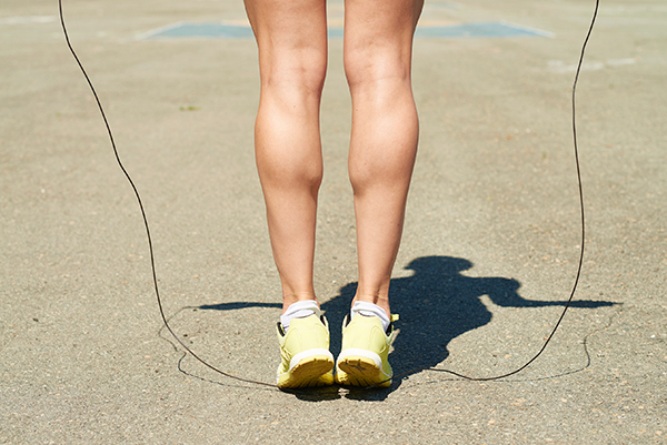 Calves-How to Get Better at Jumping Rope