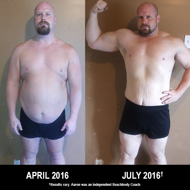 Body Beast Results: Aaron Lost 43 Pounds and Won $500!