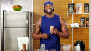 Peanut Butter Cinnamon Smoothie featuring Chris Downing and Shakeology