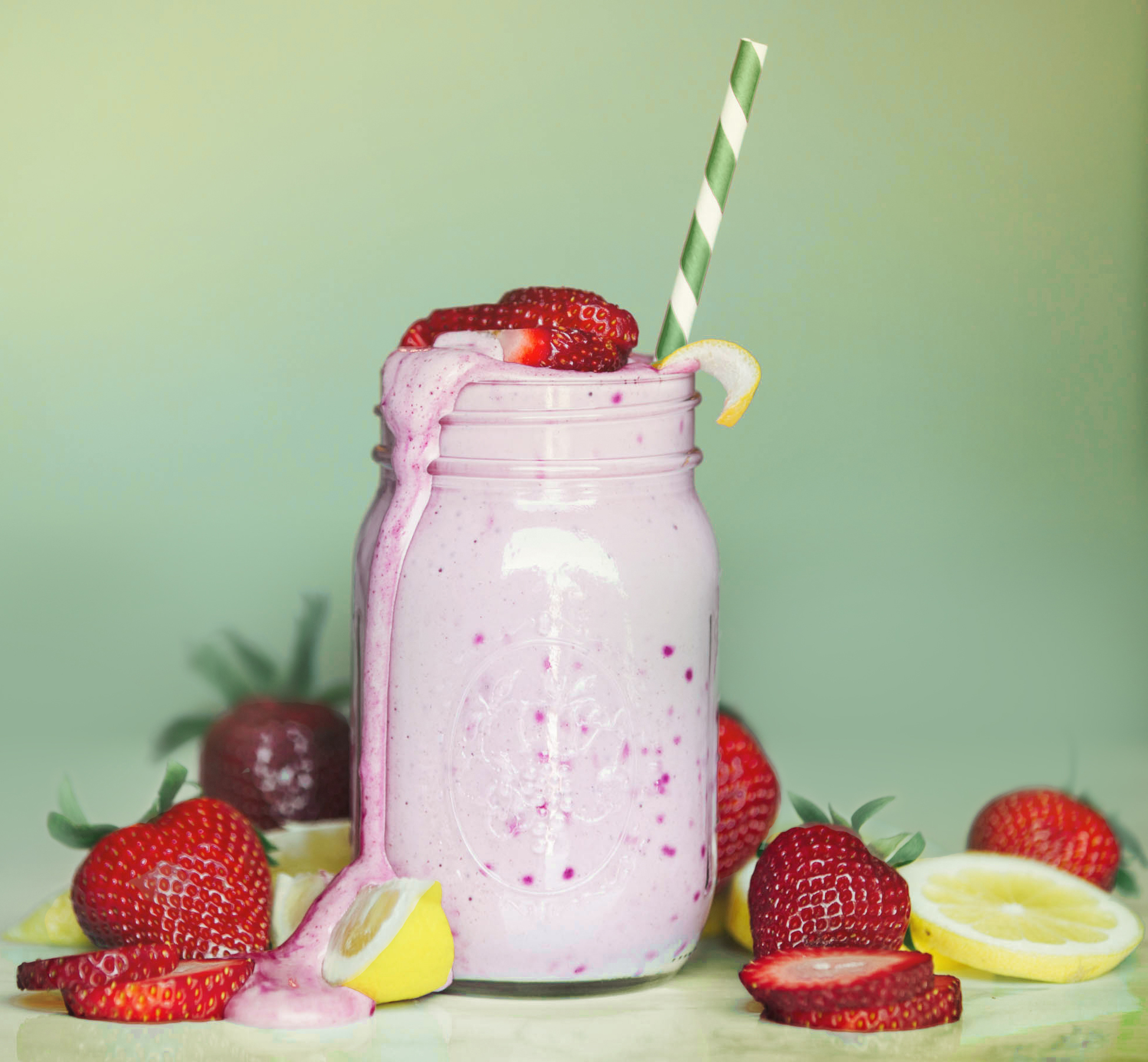 Vegan Strawberry Lemonade Shakeology in post