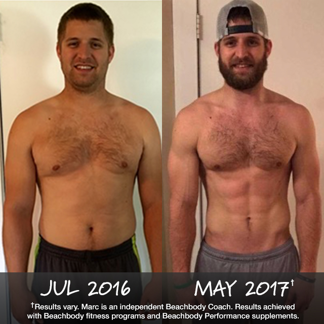 Beachbody Results: Marc Lost 44 Pounds with P90X3 & 22 Minute Hard Corps