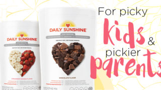 Daily Sunshine -healthy 3-in-1 smoothie for kids