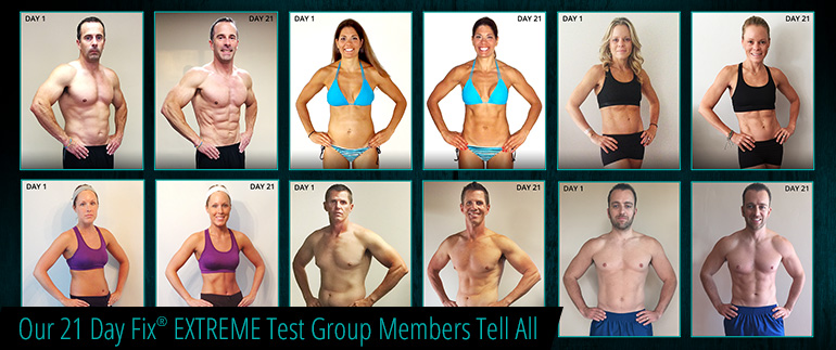 Our 21 Day Fix® EXTREME Test Group Members Tell All