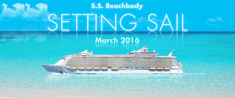 S.S. Beachbody Setting Sail March 2016
