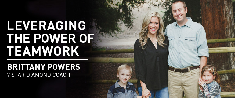 Leveraging the Power of Teamwork - BRITTANY POWERS, 7 Star Diamond Coach